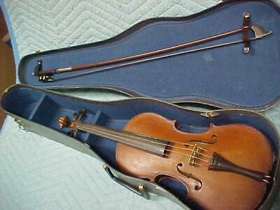 "Antique No Name 7/8 Violin in Good ""As Found"" Condition"