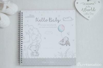 New Baby Keepsake Journal Milestone Record Book | FREE Delivery
