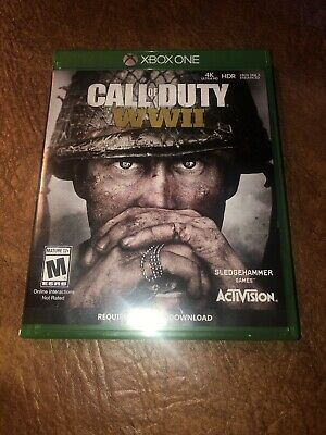Call of Duty WWII Xbox One EXCELLENT CONDITION