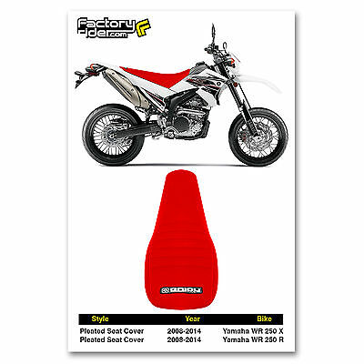 YRPEL YAMAHA DT200WR DT200 WR DT 200 WR SEAT COVER  W// STRAP