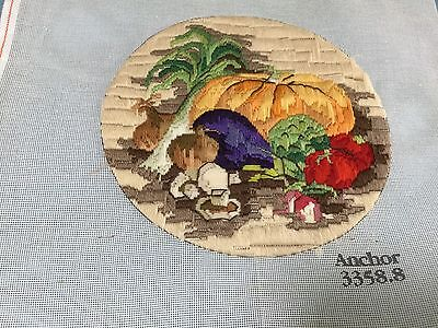 Long Stitch - Assorted Fruit - Completed