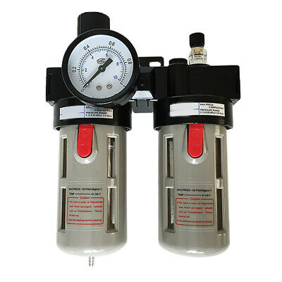 GN- BFC2000 Air Filter Pressure gauge tool Oil Water Separator Combos
