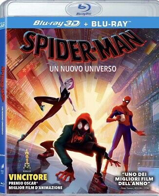 Spider-Man Spider-verse 3D And 2D Blu Ray , Region Free!!! ETA May 13th