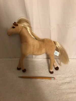 Vintage Applause Stuffed Horse With Silky Mane & Tail