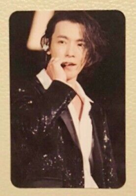 SUPER JUNIOR DONGHAE Official Photocard WORLD TOUR SUPER SHOW7 in JAPAN DVD