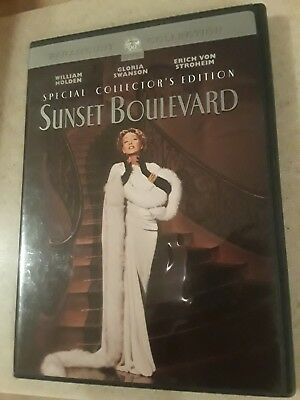 Sunset Boulevard DVD Special Collector's Edition *Read Description*