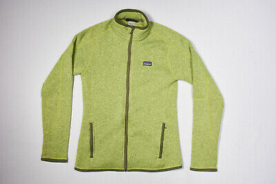 brand new 93a29 37879 DONNA PATAGONIA 'BETTER Sweater' Giacca in Pile S in Verde Primavera 25541