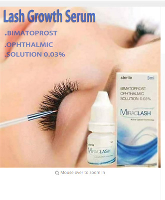 Eyelash Growth Eye Serum 7 Day Eyelash Enhancer Longer Fuller Thicker Lashes