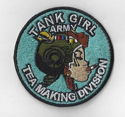 Tank Girl  Iron On Patch Buy 2 We Send Three Of These