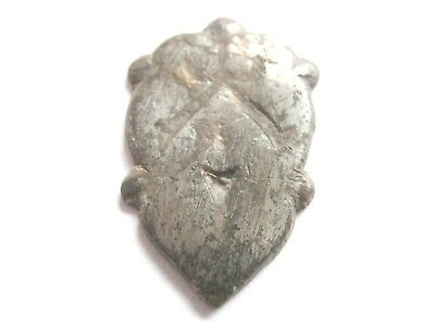 Ancient CELTIC WARRIORS Silvered Bronze Amulet / Talisman - HUMAN FIGURE