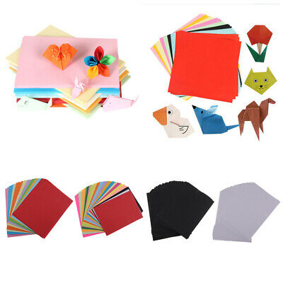 Prettyia 200 Sheets Origami Papers Double Sided Color Craft Lucky Wish Paper
