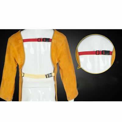 GN- Cowhide Leather Welder Apron Welding safety guard Apparel Fire Resistant Coa