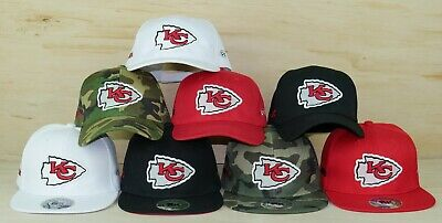 KANSAS CITY CHIEFS Glow In The Dark Snapback Or Low Profile Embroidered NFL  Hat