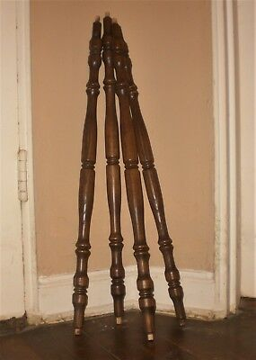 VinTaGe~OLD WOOD SPINDLES~Antique Salvage~Table Legs~Curtain Rod~Shabby Projects