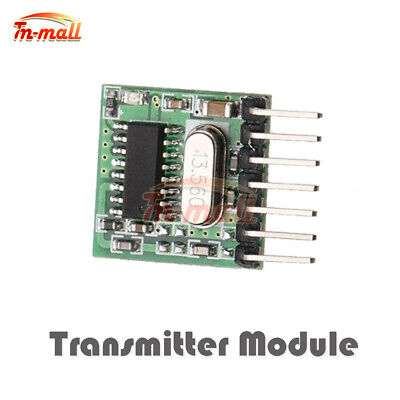 433MHz Transmitter Module Wireless RF Remote Control 1527 Learning Code