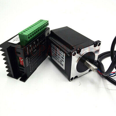 270oz-in 1.8Nm Nema 23 Stepper Motor 1.8° 4-wires 76mm+ TB6600 Driver CNC Router