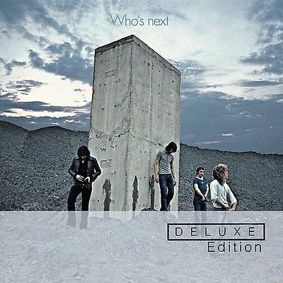 WHO'S NEXT ! !  SEALED 2 CD SET DELUXE EDITION..The Who  (2012) tracks on pic 2