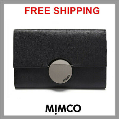 Mimco Waver Extra Large Black Wallet Patent  Leather Bnwt Df Authentic Rrp $269