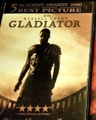 GLADIATOR DVD Limited Edition Packaging (2003, R) Widescreen - Near Mint/Minty