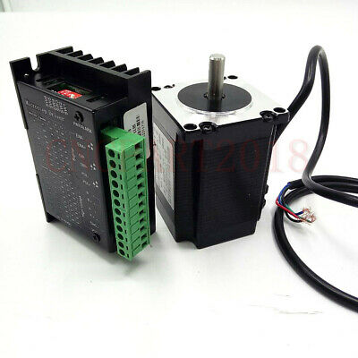 375oz-in Driver TB6600 Nema 23 Stepper Motor Kit 4-wires 2.5NM  for CNC Router