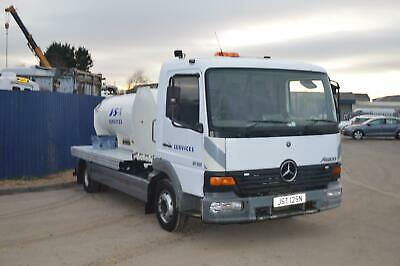 Mercedes-Benz Atego 815 7.5 ton water/fuel bowser