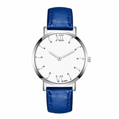 Rome Number Men Watches Business Style Round Dial Quartz Ultrathin Wrist Watch E