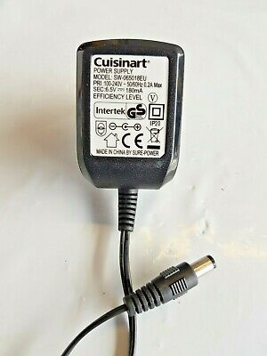 Cuisinart SW-065018EU POWER SUPPLY 6.5V 180MA EU PLUG for Rice Cooker Maker