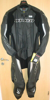 Spidi Lederkombi Supersport Touring Schwarz GR.56 NEU