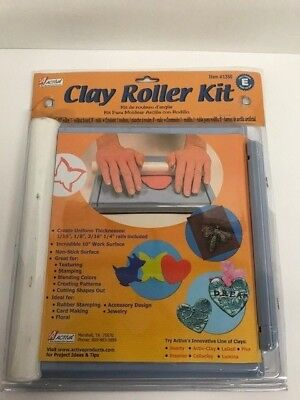 """ACTIVA PRODUCTS  AV1350  Clay Roller Kit 10"""" Work Surface Non Stick"""