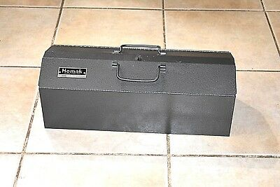 "New Vintage 1970's Homak Tool Box Chest #821  21 1/2"" x 8 1/2"" x 7 1/2"" Chicago"