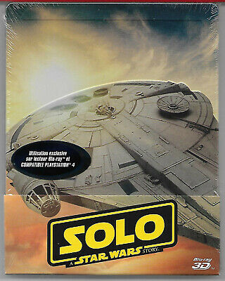 SOLO - A Star Wars Story / Blu-Ray 2D + 3D Steelbook Neuf sous blister - VF