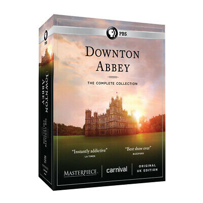 Downton Abbey: The Complete Series - Unedited UK Edition - DVD