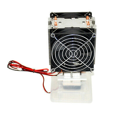 12V Dual Fan Semiconductor Refrigeration Thermoelectric Peltier Air Cool System