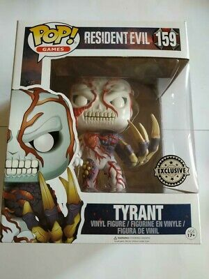 Figurine Funko POP! Games Resident Evil 159 Tyrant Exclusive
