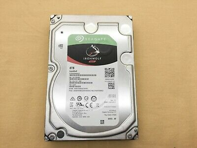 Seagate 8TB IronWolf 6Gb/s NCQ 256MB 3.5-Inch Internal Hard Drive ST8000VN0022
