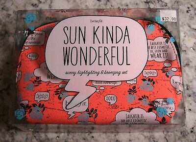 bffe25c7e7f Benefit SUN KINDA WONDERFUL Sunny Highlighting & Bronzing Set - NEW in Box