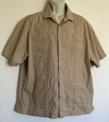 a75eef38 THE HAVANERA CO Men'S Guayabera Wedding Short Sleeve Shirt 2Xl ...