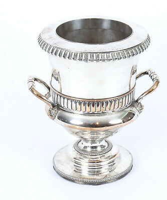 Antique Old Regency Sheffield Silver Plated Wine Cooler  C1820 19th C