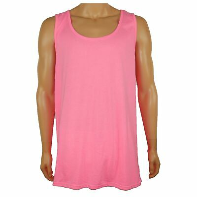 c8b11ad1b3a2d New! Hurley Premium Fit Tank Top Sleeveless Muscle Shirt Neon Pink Mens Sz  2Xl