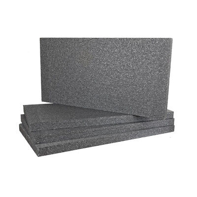 EPS, Grey Polystyrene Sheets 50mm, pack of 12 use for External Wall Insulation