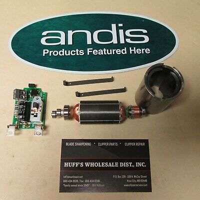 Andis Clipper Parts Armature and Field Coil & 2-Clips & Switch Fits AGC Ultra