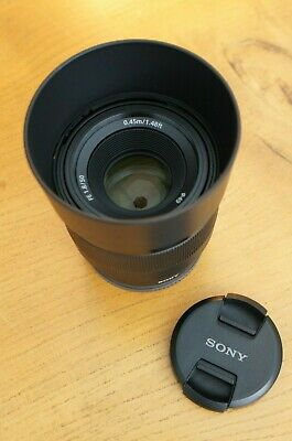 Sony FE 50 mm F/1.8 FE Lens for Sony A7, NEX, A-6000 Black NEW UNUSED!!