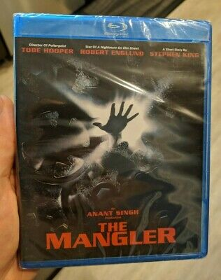 The Mangler (Blu-ray) BRAND NEW!! Shout Factory