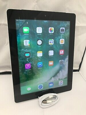Apple iPad 4th Gen. 128GB, Wi-Fi + Cellular (Verizon), 9.7in - Black