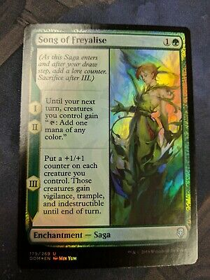 Song of Freyalise Dominaria NM Green Uncommon MAGIC GATHERING CARD ABUGames