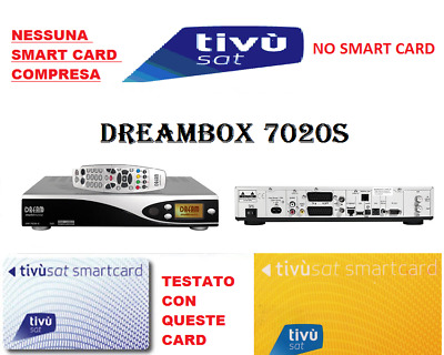 ^ Tivusat Decoder Dreambox 7020S  Tvsat *