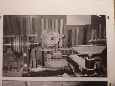 Turners & Carvers Turning Bowls Legs On Home Lathes Excellent Interesting Book