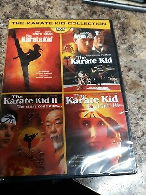 The Karate Kid 4- Movie Collection, DVD, NEW