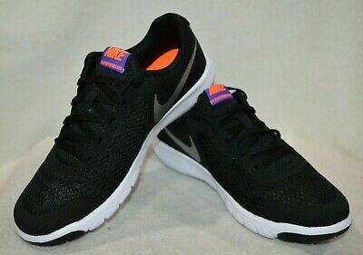 official photos 7520f 00be0 Nike Flex Experience 5 (GS) Black Chhome Viol Girl s Running Shoes-
