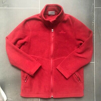Kathmandu Polar Red Fleece Kids Size 12 VGC - FREE POST! (SMOKE & PET FREE HOME)